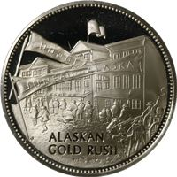 alaskan gold rush proof sterling