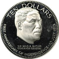 $10 bahamas proof sterling silver