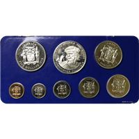 jamaica coin proof set franklin