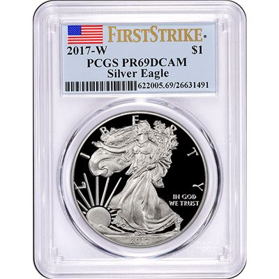 american proof silver eagle pcgs