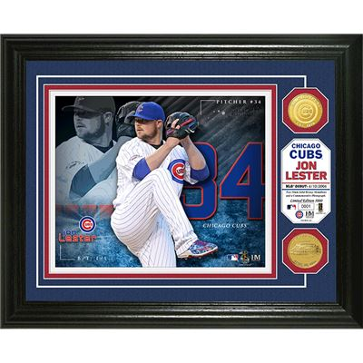jon lester chicago cubs coin