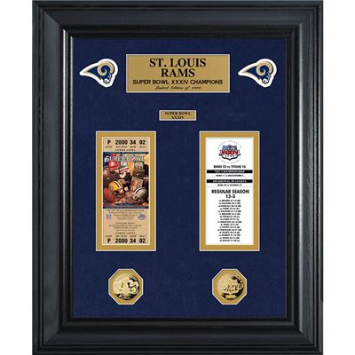 louis rams super bowl deluxe