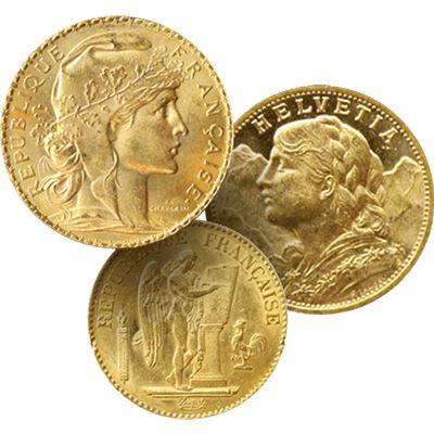 franc gold coin swiss french