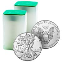 american silver eagle roll coins