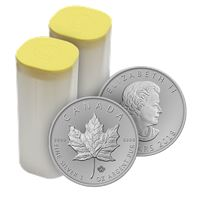 canadian silver maple leaf roll