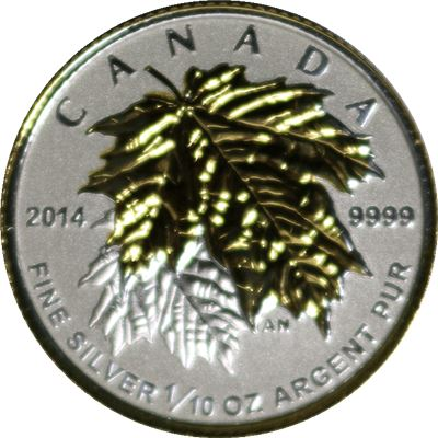 canada coin reverse proof silver