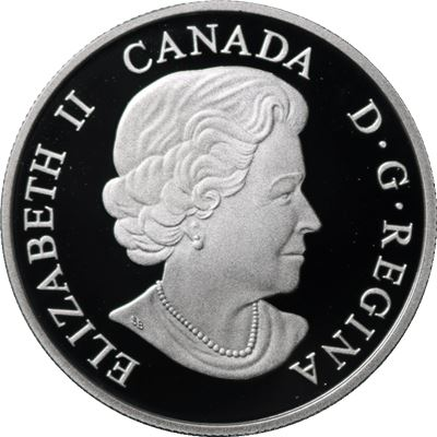 canada majestic animals coin silver