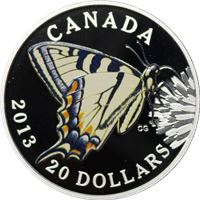 canada tiger swallowtail butterfly $20