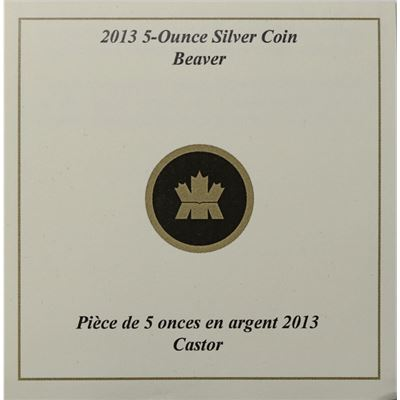 canada beaver family silver proof