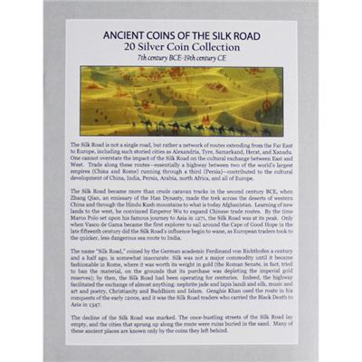 ancient coins the silk road