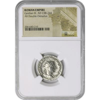 roman empire gordian iii double