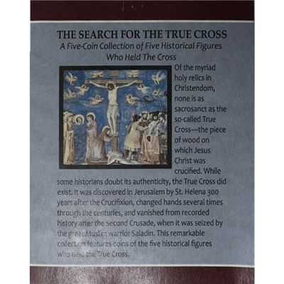 search for the true cross