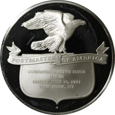 postmasters america issued july proof