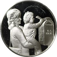 postmasters america issue proof sterling