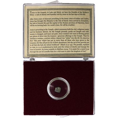 biblical widows mite bronze coin