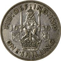 great britain shilling silver coin