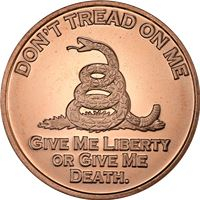 don tread copper round avdp