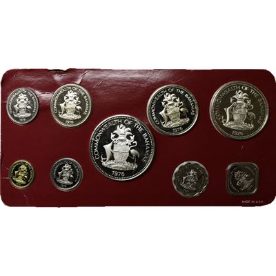 bahamas coin proof set