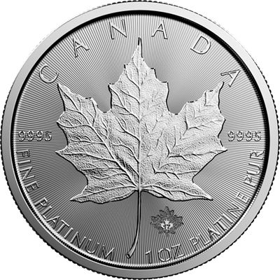 canadian platinum maple leaf random