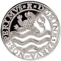 netherlands proof silver lion dollar