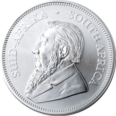 south african silver krugerrand coin