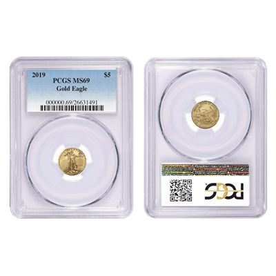 $5 american gold eagle pcgs