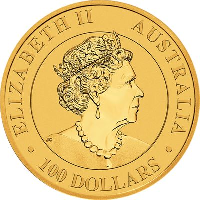 australian gold kangaroo brilliant uncirculated
