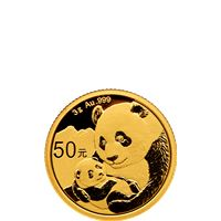 gram chinese gold panda sealed