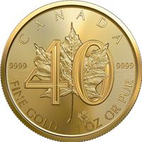 anniversary canadian gold maple leaf