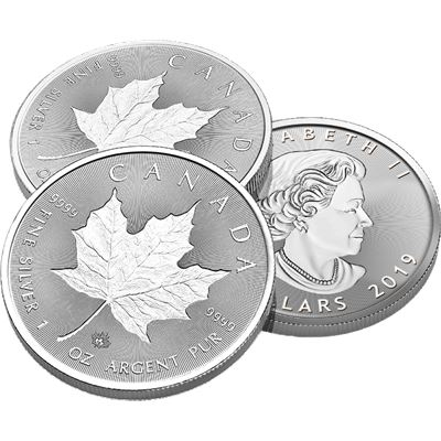 canadian silver incuse maple leaf