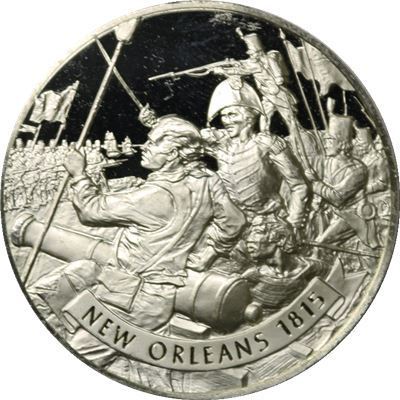 battle new orleans proof sterling