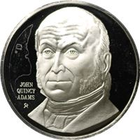 john quincy adams proof sterling