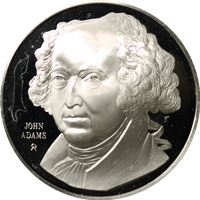 john adams proof sterling silver
