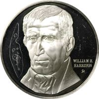 william harrison proof sterling silver