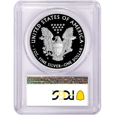 proof american silver eagle pcgs