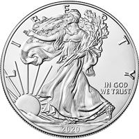 american silver eagle coin brilliant