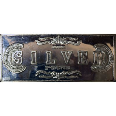 $500 proof silver bar confederate