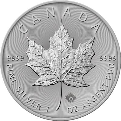 canadian silver maple leaf brilliant