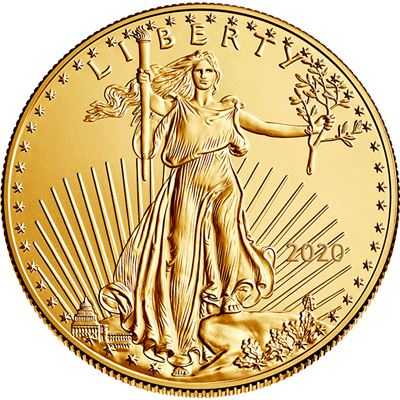 gold american eagle brilliant uncirculated
