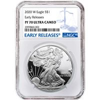 proof american silver eagle ngc