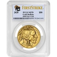american gold buffalo pcgs ms70