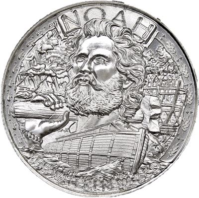noah ark silver round pure
