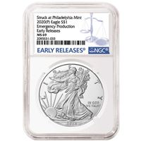 american silver eagle ngc ms69