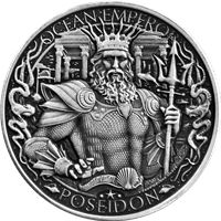atlantis silver round mythical cities