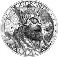 asgard silver round mythical cities